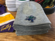 Load image into Gallery viewer, Beanie (Grey) with a Johnny Canuck embroidered twill crest / logo $35