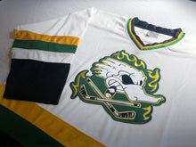 Load image into Gallery viewer, Custom hockey jerseys with Dirty Ducks logo