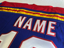 Load image into Gallery viewer, Custom hockey jerseys with the Lucky logo