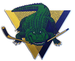 The Gators embroidered twill crest