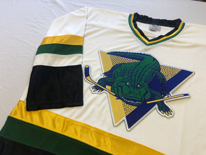 Custom hockey jerseys with Gators logo