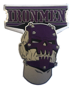 The Ironmen embroidered twill logo