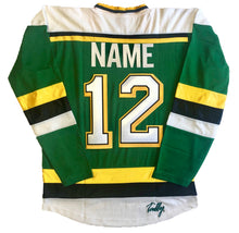 Load image into Gallery viewer, Custom Hockey Jerseys with the Jurassic Puck Logo $59