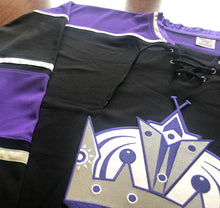 Load image into Gallery viewer, Custom Hockey Jerseys with the Kings Twill Crest $59