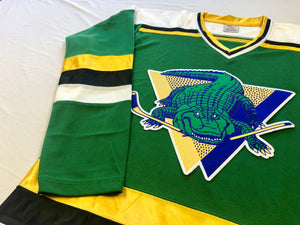 Custom Hockey Jerseys with a Gators Twill Logo $59