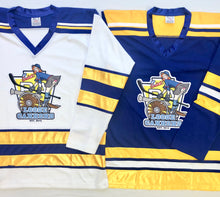 Load image into Gallery viewer, Custom Hockey Jerseys with the Loose Canons Twill Logo $59