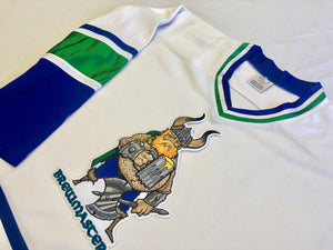 Custom Hockey Jerseys with the Brewmasters Twill Logo $59