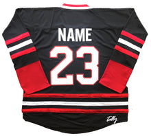Load image into Gallery viewer, Custom Hockey Jerseys with a Goalie Mask Embroidered Twill Logo $59