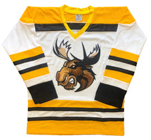 Load image into Gallery viewer, Custom Hockey Jerseys with a Moose Embroidered Twill Logo $59