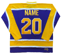 Load image into Gallery viewer, Custom Hockey Jerseys with a Beer Mug Twill Logo $59