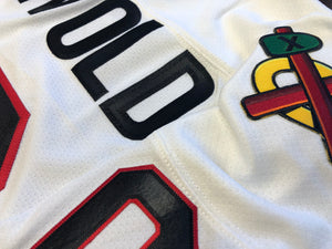 GRISWOLD Jersey with Embroidered Twill Crests and Sleeve Numbers $77