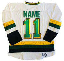 Load image into Gallery viewer, Custom Hockey Jerseys with the North Stars Twill Logo $59