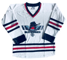 Load image into Gallery viewer, Custom Hockey Jerseys with the Blitzkrieg Twill Logo $59