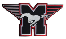 Load image into Gallery viewer, The Mustangs embroidered twill logo
