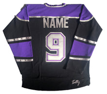 Load image into Gallery viewer, Custom hockey jerseys with the Vipers embroidered twill team logo.