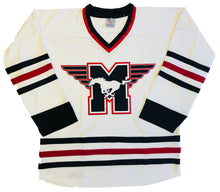Load image into Gallery viewer, Custom Hockey jerseys with the Mustangs logo