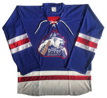Load image into Gallery viewer, Custom Hockey Jerseys with the Polar Beers Twill Logo $59
