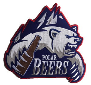 Polar Beers embroidered twill logo