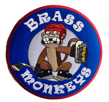 Load image into Gallery viewer, The Brass Monkeys embroidered twill logo