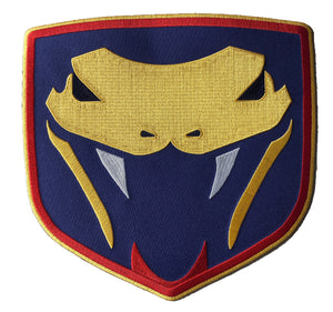 The Vipers embroidered twill logo