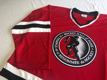 Load image into Gallery viewer, Custom hockey jerseys with the Hockey Hall of Fame logo
