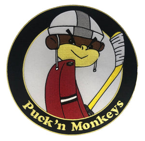 Puck'N Monkeys embroidered twill logo