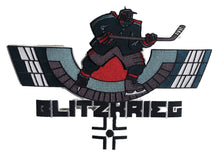 Load image into Gallery viewer, The Blitzkrieg embroidered twill logo