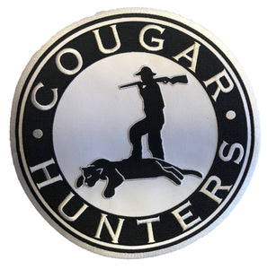 The Cougar Hunters embroidered twill logo