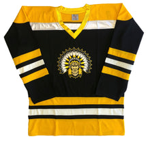 Load image into Gallery viewer, Custom Hockey Jerseys with an Indian Logo $59
