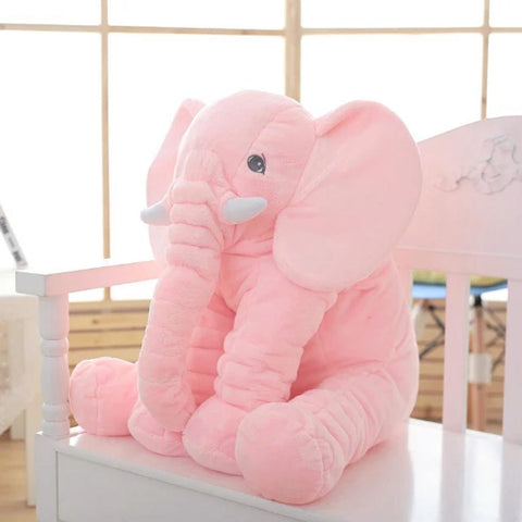 Baby Elephant Pillow - Elephant Plush Pillow - Infant Elephant Pillow