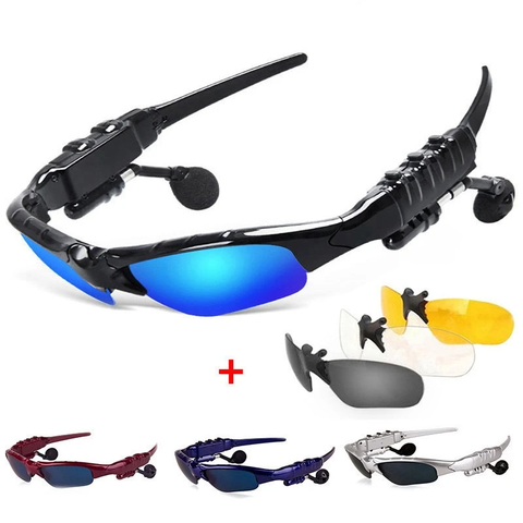Bluetooth Sunglasses - Bluetooth Sunglasses Headphones