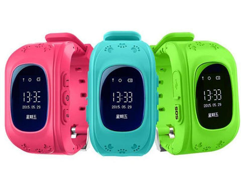 Kids Smart GPS Watch - GPS Kid Tracker Smart Wristwatch