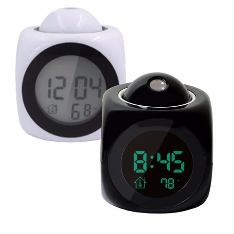 Projection Alarm Clock - Projection Clock - Ceiling Projection Clock