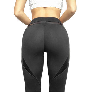 Heart Leggins Pure Black