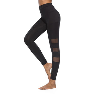 Mesh Stripes Leggings