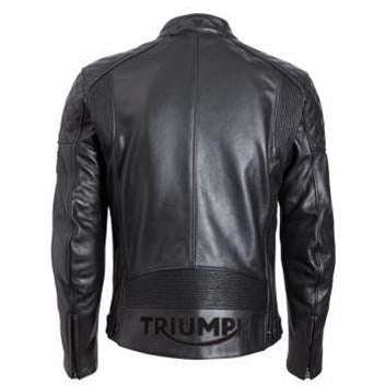 Triumph Mens Braddan Leather Jacket