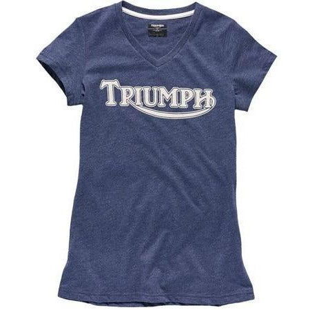 Triumph Ladies Vintage Logo T Shirt