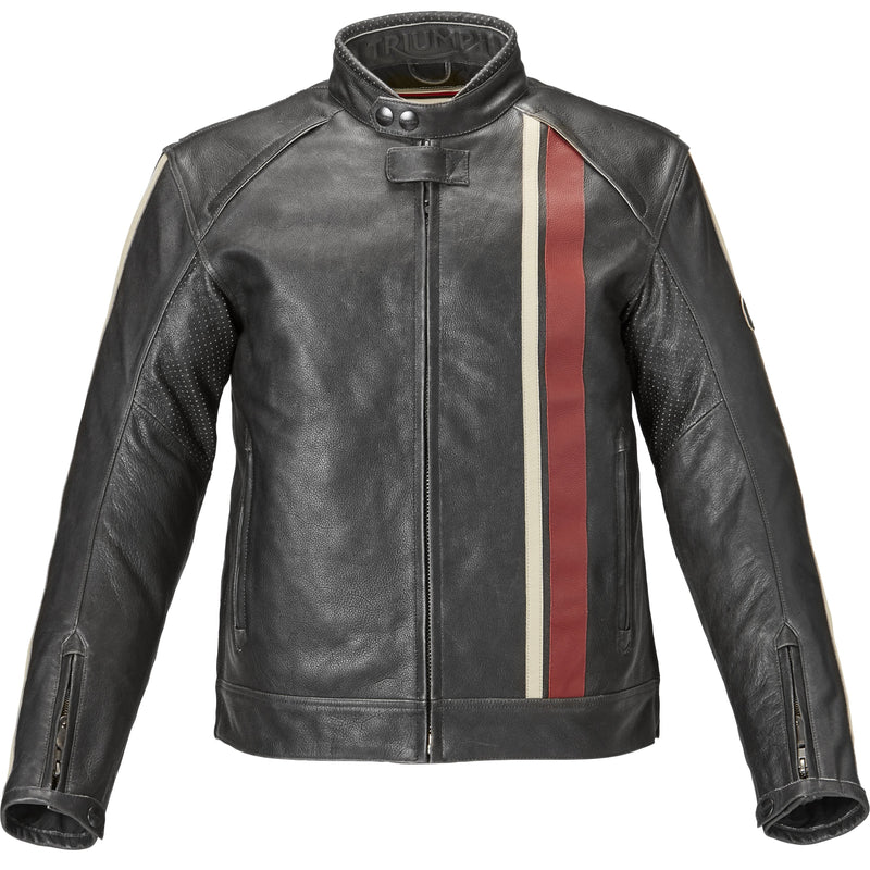 Triumph Mens Raven II Leather Jacket