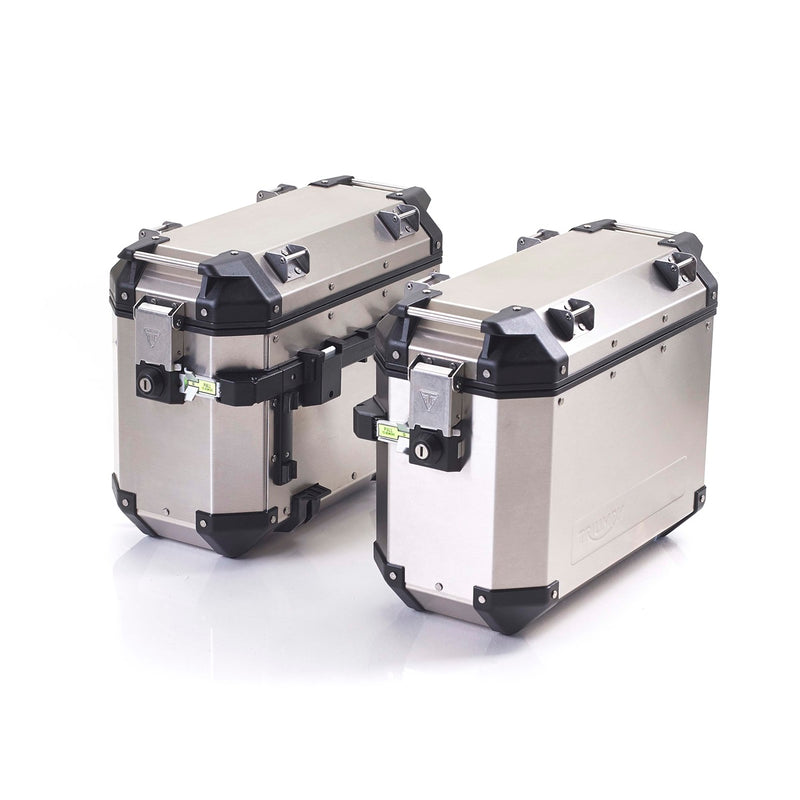 Triumph Expedition Panniers - Silver