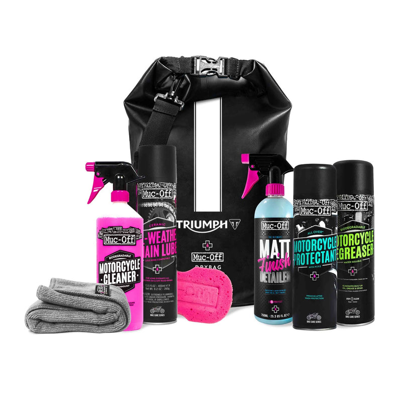 Triumph Muc Off Motorcycle Cleaning Kit A9930515