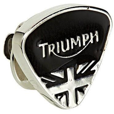 Triumph Black Triangle Pin Badge