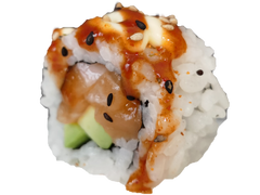 ROLL DE SALMÓN SPICY (8u)
