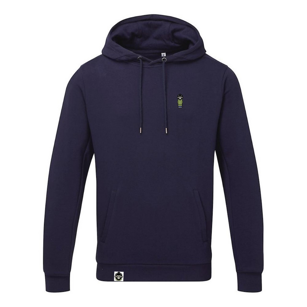 The PM Classic Hoodie 'Navy' - Parka Monkey