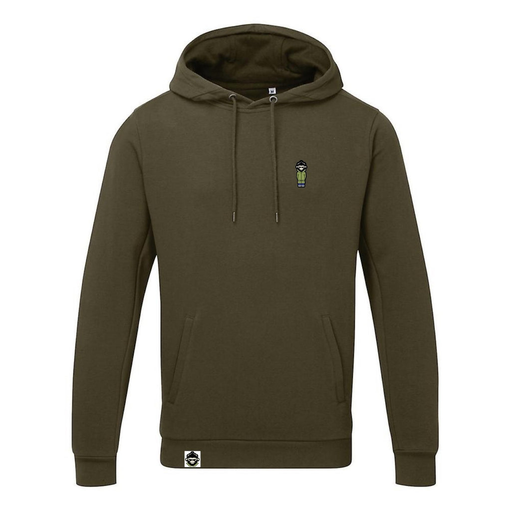 The PM Classic Hoodie 'Khaki green' - Parka Monkey