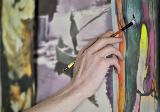 How to become a painter with painting by numbers