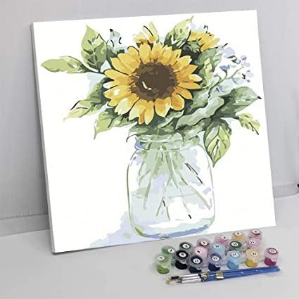Painting flowers with the World Painting by Numbers [Curiosities]