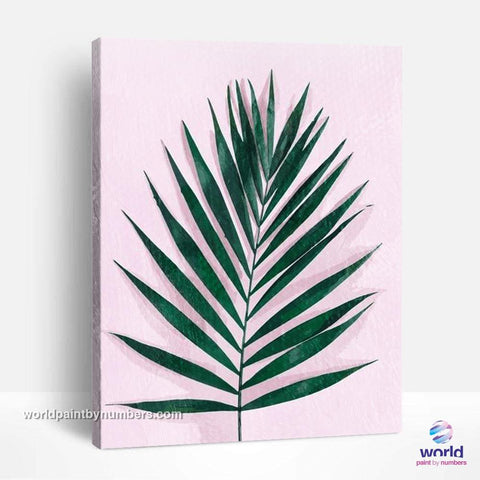 Areca Palm - Leaf Collection - World Paint by Numbers™ Kits DIY