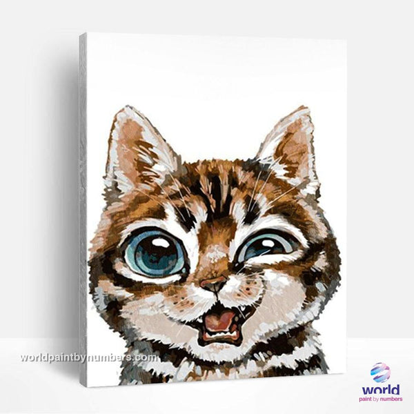 Buddy Kitty - World Paint by Numbers™ Kits DIY