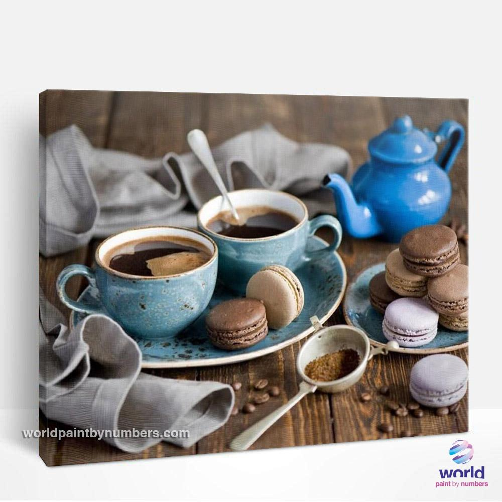 Coffee Time - World Paint by Numbers™ Kits DIY