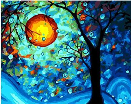 Dream Tree by Vincent Van Gogh - World Paint by Numbers™ Kits DIY